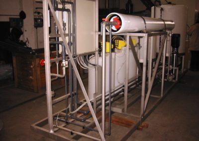 Sistema di trattamento acqua ad osmosi inversa